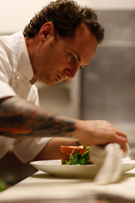 Chef Troy chats with Visit Denver