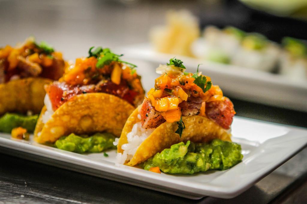 Tacos at TAG Social