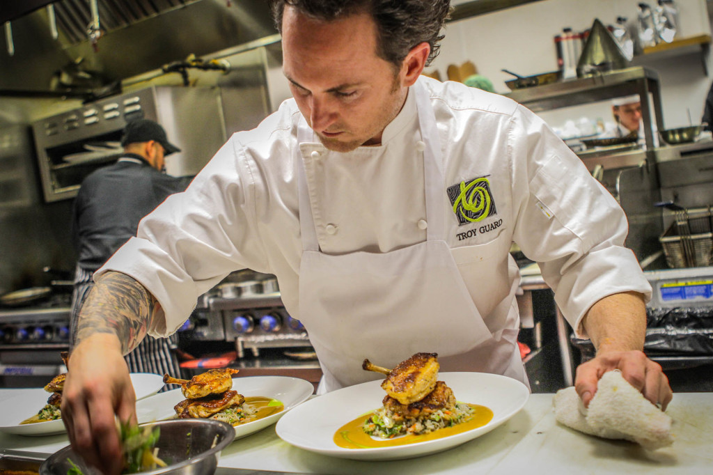 Chef Troy Guard at TAG Social Restaurant