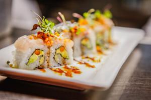 Sushi at TAG Social