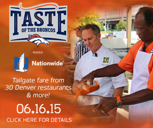 JOIN CHEF TROY GUARD OTHER TOP DENVER CHEF'S & THE BRONCOS AT THE INAUGURAL TASTE OF THE BRONCOS EVENT JUNE 16TH!