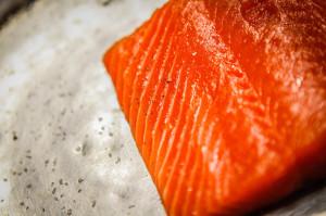 Fresh Salmon at TAG Restaurant