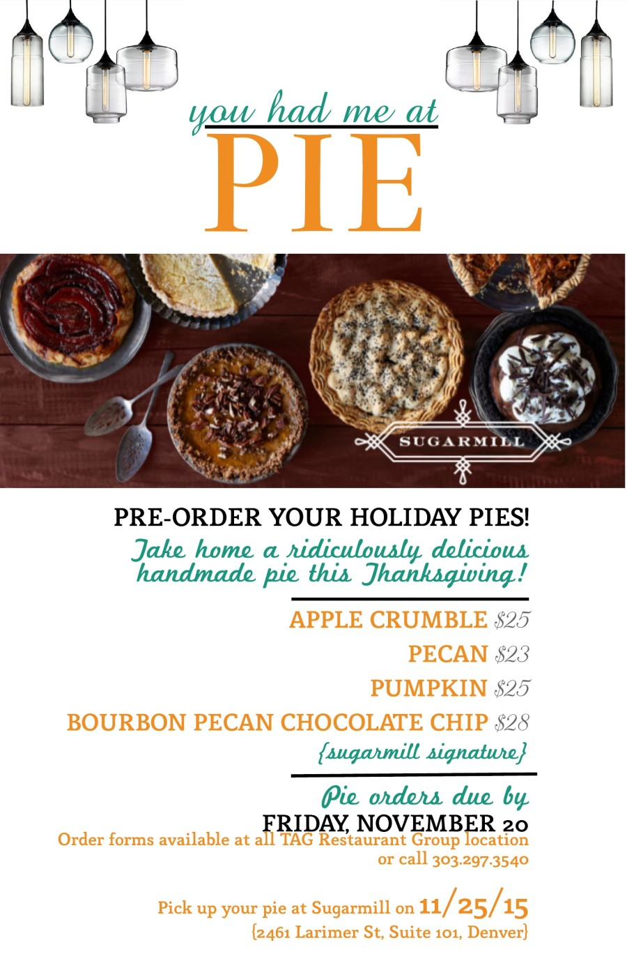 Order Your Holiday Pies