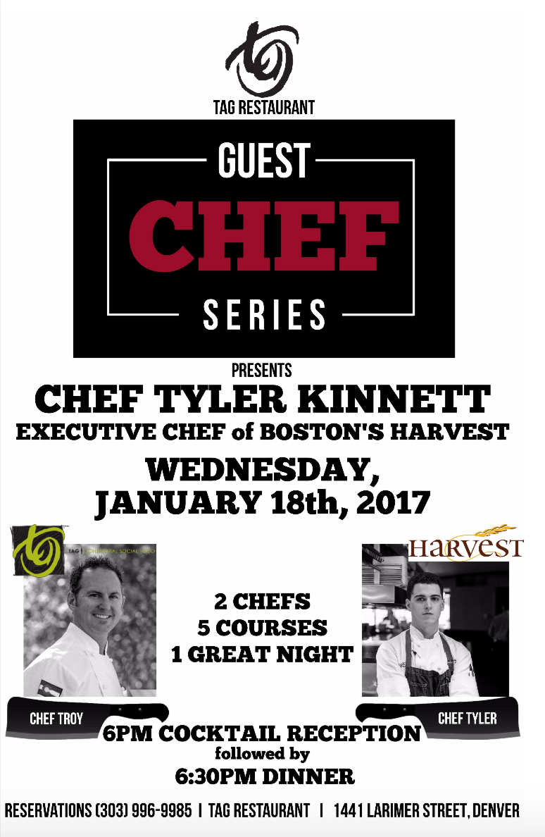 SAVE THE DATE – 1.18.17 – GUEST CHEF SERIES