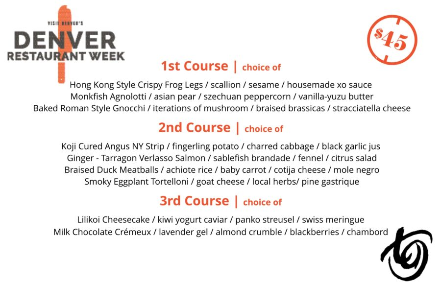 Denver Restaurant Week | 2/22-3/3