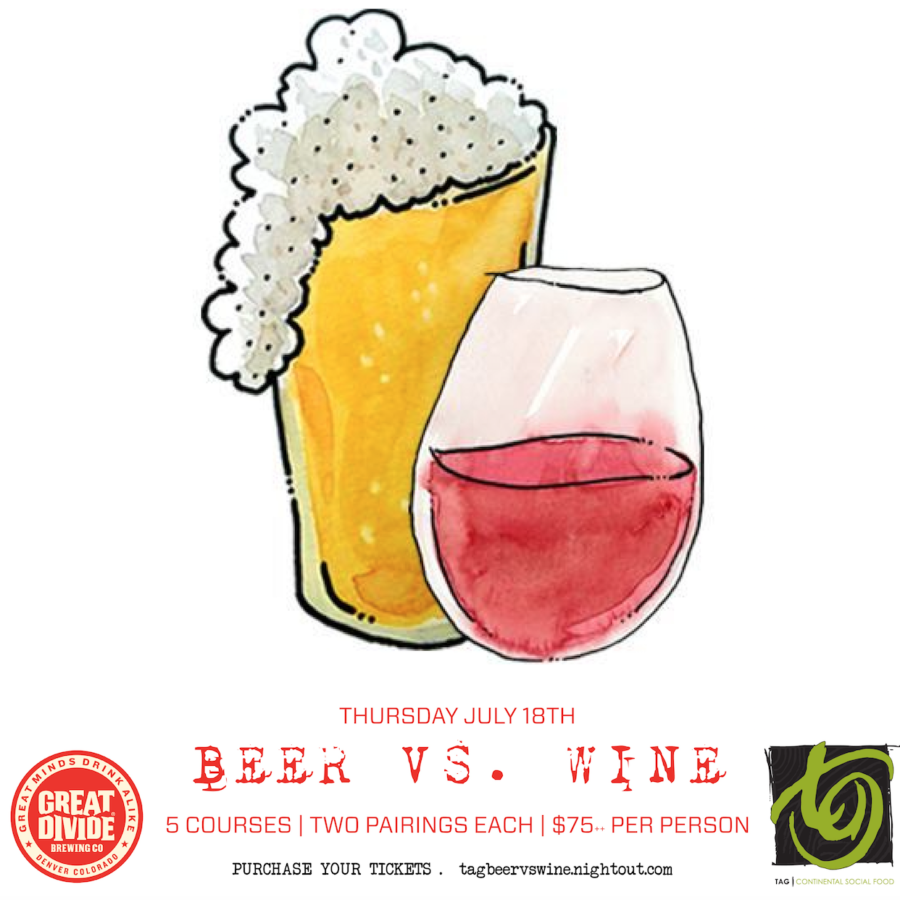Beer vs Wine Dinner | July 18th